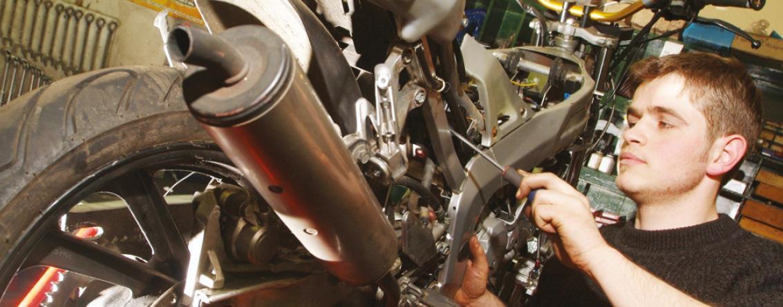 Le métier de Mécanicien Motocycles