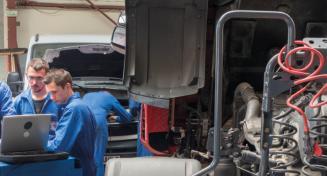 Le métier de Mécanicien/Technicien Véhicules Transport Routier